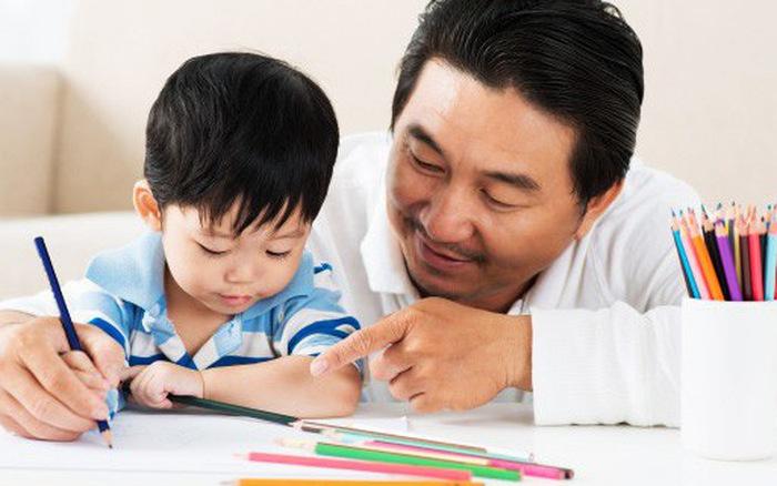 Tập viết là cách giúp trẻ nhớ mặt chữ tốt hơn